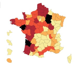 carte des pesticides